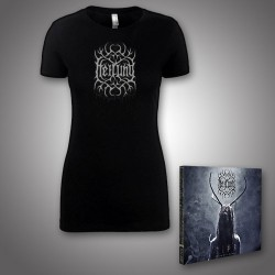 Heilung - Lifa - Heilung Live at Castlefest + Remember - CD DIGIPAK + T Shirt bundle (Women)