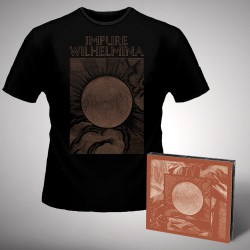 Impure Wilhelmina - Radiation - CD DIGIPAK + T Shirt bundle (Men)