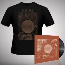 Impure Wilhelmina - Radiation - DOUBLE LP GATEFOLD + T Shirt Bundle (Men)