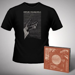 Impure Wilhelmina - Radiation + Hand - CD DIGIPAK + T Shirt bundle (Men)