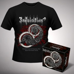 Inquisition - Bloodshed Across the Empyrean Altar Beyond the Celestial Zenith + Zenith - Digibox + T Shirt bundle (Men)