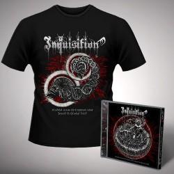 Inquisition - Bloodshed Across the Empyrean Altar Beyond the Celestial Zenith + Zenith - CD + T Shirt bundle (Men)