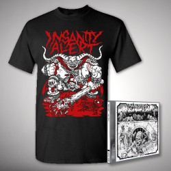 Insanity Alert - 666-Pack + Lord - CD + T Shirt bundle (Men)