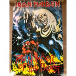 Iron Maiden - The Number of the Beast - Standard Poster