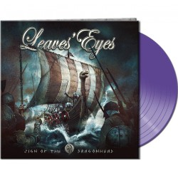 Leave's Eyes - Sign of the Dragonhead - LP Gatefold Colored
