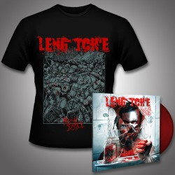 Leng Tch'e - Razorgrind + Mosh Justice (eShop Exclusive) - LP Gatefold Colored + T shirt Bundle (Men)