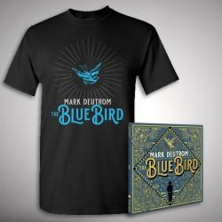 Mark Deutrom - The Blue Bird - CD DIGIPAK + T Shirt bundle (Men)