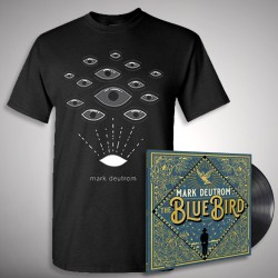Mark Deutrom - The Blue Bird + Eyes - LP + T shirt Bundle (Men)