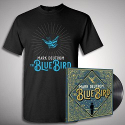 Mark Deutrom - The Blue Bird - LP + T shirt Bundle (Men)