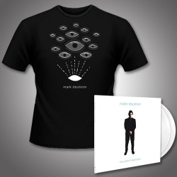 Mark Deutrom - The Silent Treatment + Eyes - Double LP Gatefold Colored + T Shirt Bundle (Men)