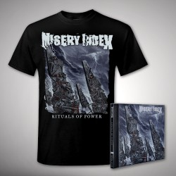 Misery Index - Rituals of Power Bundle - CD + T Shirt bundle (Men)