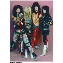 Mötley Crüe - Band Photo - Standard Poster
