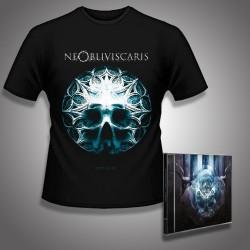 Ne Obliviscaris - Citadel + Skull Glass Bundle - CD + T Shirt bundle (Men)