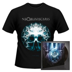 Ne Obliviscaris - Citadel + Skull Glass Bundle - LP + T shirt Bundle (Men)