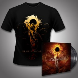 Ne Obliviscaris - Urn + Intra Venus - DOUBLE LP GATEFOLD + T Shirt Bundle (Men)