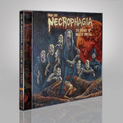 Necrophagia - Here Lies NECROPHAGIA; 35 Years of Death Metal - CD DIGIPAK + Digital