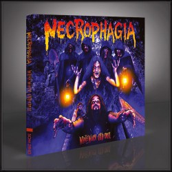 Necrophagia - WhiteWorm Cathedral - CD DIGIPAK