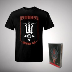 Necrowretch - The Ones from Hell - TAPE + T Shirt Bundle (Men)