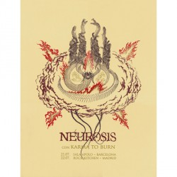 Neurosis - Neurosis Con Karma To Burn - Screenprint