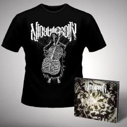 Nightmarer - Cacophony of Terror + Skeleton - CD DIGIPAK + T Shirt bundle (Men)