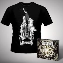 Nightmarer - Cacophony of Terror + Steel Forest - CD DIGIPAK + T Shirt bundle (Men)