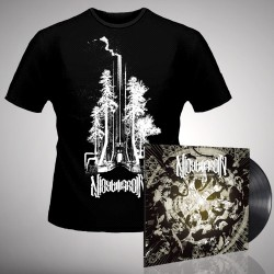 Nightmarer - Cacophony of Terror + Steel Forest - LP Gatefold + T Shirt Bundle (Men)