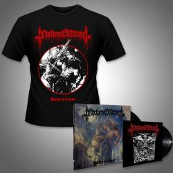 """Nocturnal Graves - Satan's Cross - LP + 10"""" + T Shirt Bundle (Men)"""