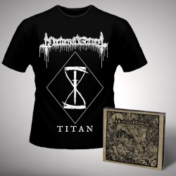 Nocturnal Graves - Titan + Silence the Martyrs Total Resistance - CD DIGIPAK + T Shirt bundle (Men)