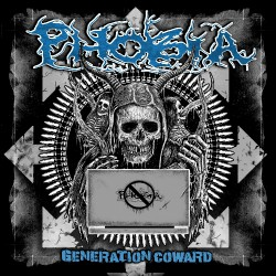 Phobia - Generation Coward - LP COLORED