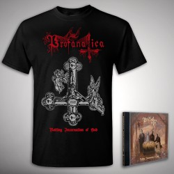 Profanatica - Rotting Incarnation of God Bundle - CD + T Shirt bundle (Men)