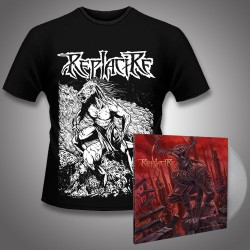 Replacire - Do Not Deviate + Horsestance - LP Gatefold Colored + T shirt Bundle (Men)