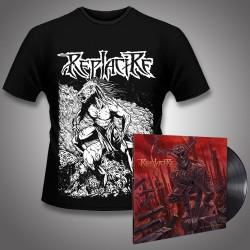 Replacire - Do Not Deviate + Horsestance - LP Gatefold + T Shirt Bundle (Men)