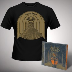 Rotten Sound - Abuse to Suffer + Fear of Shadows - CD + T Shirt bundle (Men)
