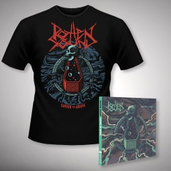Rotten Sound - Suffer to Abuse - CD DIGIPAK + T Shirt bundle (Men)