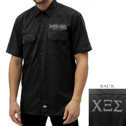 Rotting Christ - Logo - Work Shirt (Men)