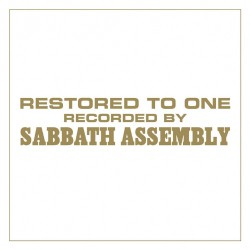 Sabbath Assembly - Restored to One - CD