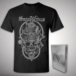 Saint Vitus - Saint Vitus + Skulls - TAPE + T Shirt Bundle (Men)