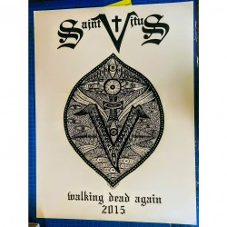 Saint Vitus - Walking Dead Again 2015 - Screenprint