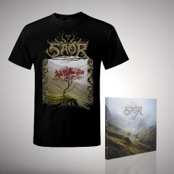 Saor - Bundle 1 - CD DIGIPAK + T Shirt bundle (Men)