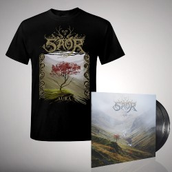 Saor - Bundle 2 - DOUBLE LP GATEFOLD + T Shirt Bundle (Men)