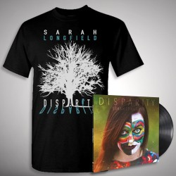Sarah Longfield - Disparity + Embracing Solace - LP + T shirt Bundle (Men)