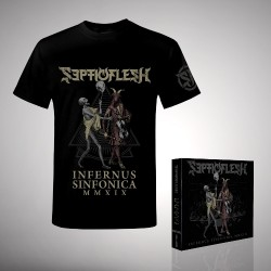 Septicflesh - Bundle 1 - 2CD + DVD digipak + T-Shirt bundle (Men)