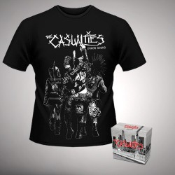 The Casualties - Chaos Sound - Digibox + T Shirt bundle (Men)