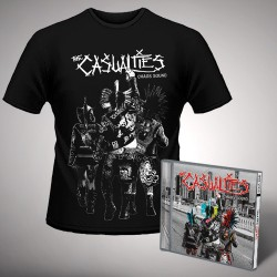 The Casualties - Chaos Sound - CD + T Shirt bundle (Men)