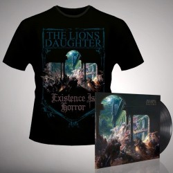 The Lion's Daughter - Existence is Horror - LP Gatefold + T Shirt Bundle (Men)