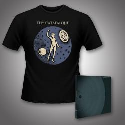 Thy Catafalque - Geometria + Microcosmos - CD DIGIPAK + T Shirt bundle (Men)