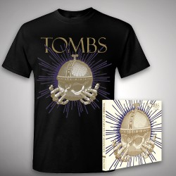Tombs - Monarchy of Shadows - CD DIGIPAK + T Shirt bundle (Men)