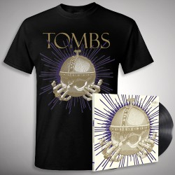 Tombs - Monarchy of Shadows - LP Gatefold + T Shirt Bundle (Men)