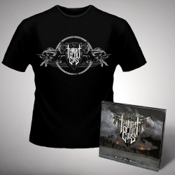 Twilight of the Gods - Fire on the Mountain + MDF 2015 Shirt - CD + T Shirt bundle (Men)