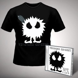 Venomous Concept - Kick Me Silly; VC3 - CD + T Shirt bundle (Men)
